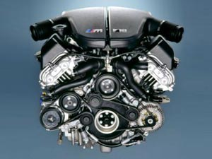 BMW M5 Engine